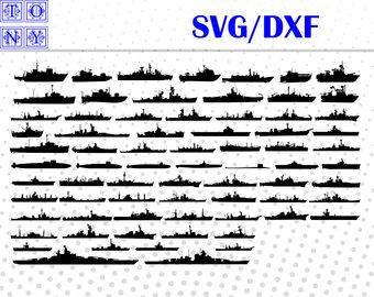 Battleship clipart svg. Navy etsy ships svgdxf