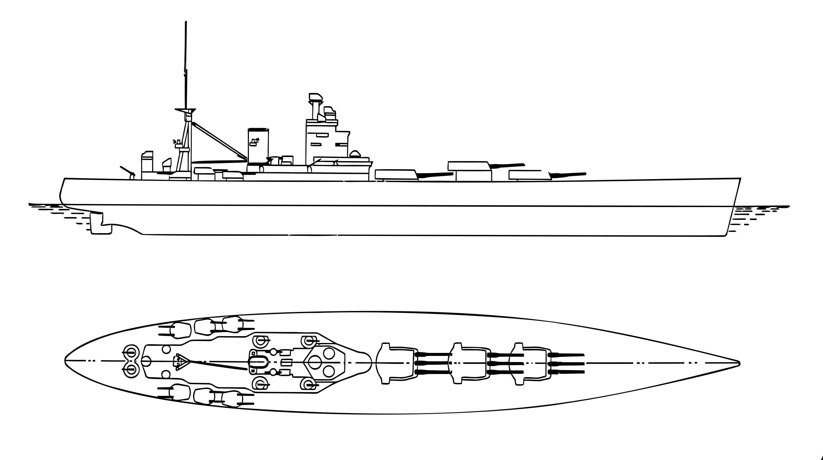 British battleships nelson and. Battleship clipart svg