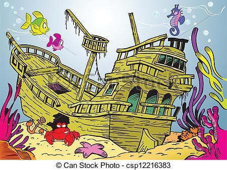 Sunken drawing at getdrawings. Battleship clipart wrecked ship