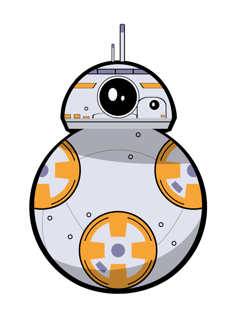picture relating to Bb 8 Printable identified as Bb8 clipart printable, Bb8 printable Clear Free of charge for