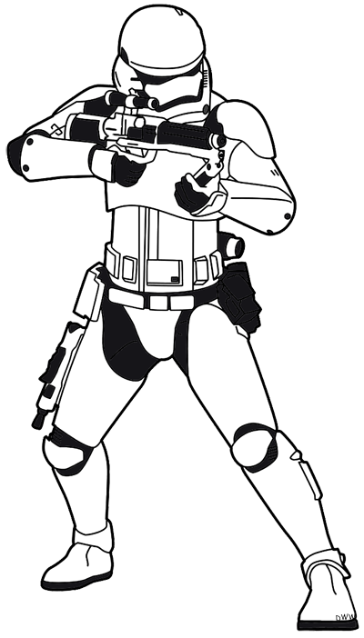 Starwars clipart stormtrooper. Star wars the force