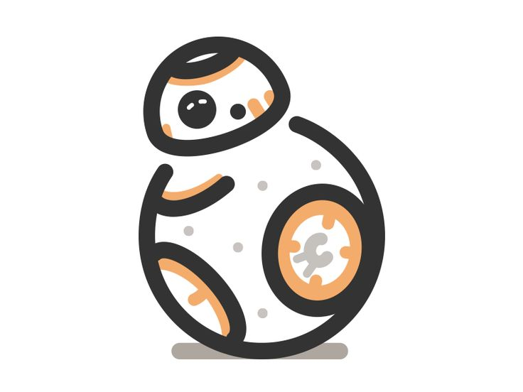 Bb8 clipart cute. Bb free download best