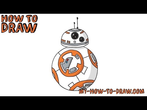 Bb8 clipart cute. How to draw bb