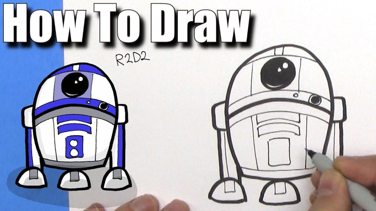 How to cute cartoon. Bb8 clipart easy draw