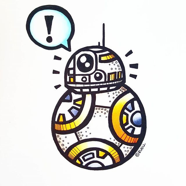 Pin by ramses garcia. Bb8 clipart easy draw