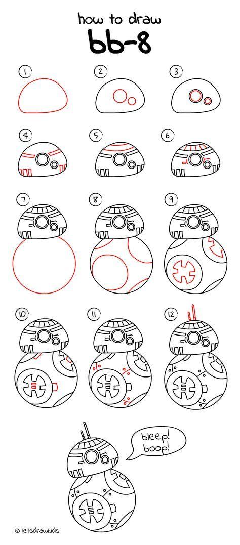 Bb8 clipart easy draw. Pin szerz je daaxe