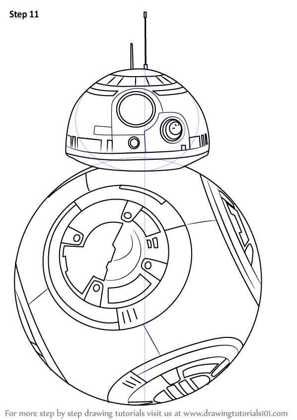 Bb8 clipart easy draw. Learn how to bb