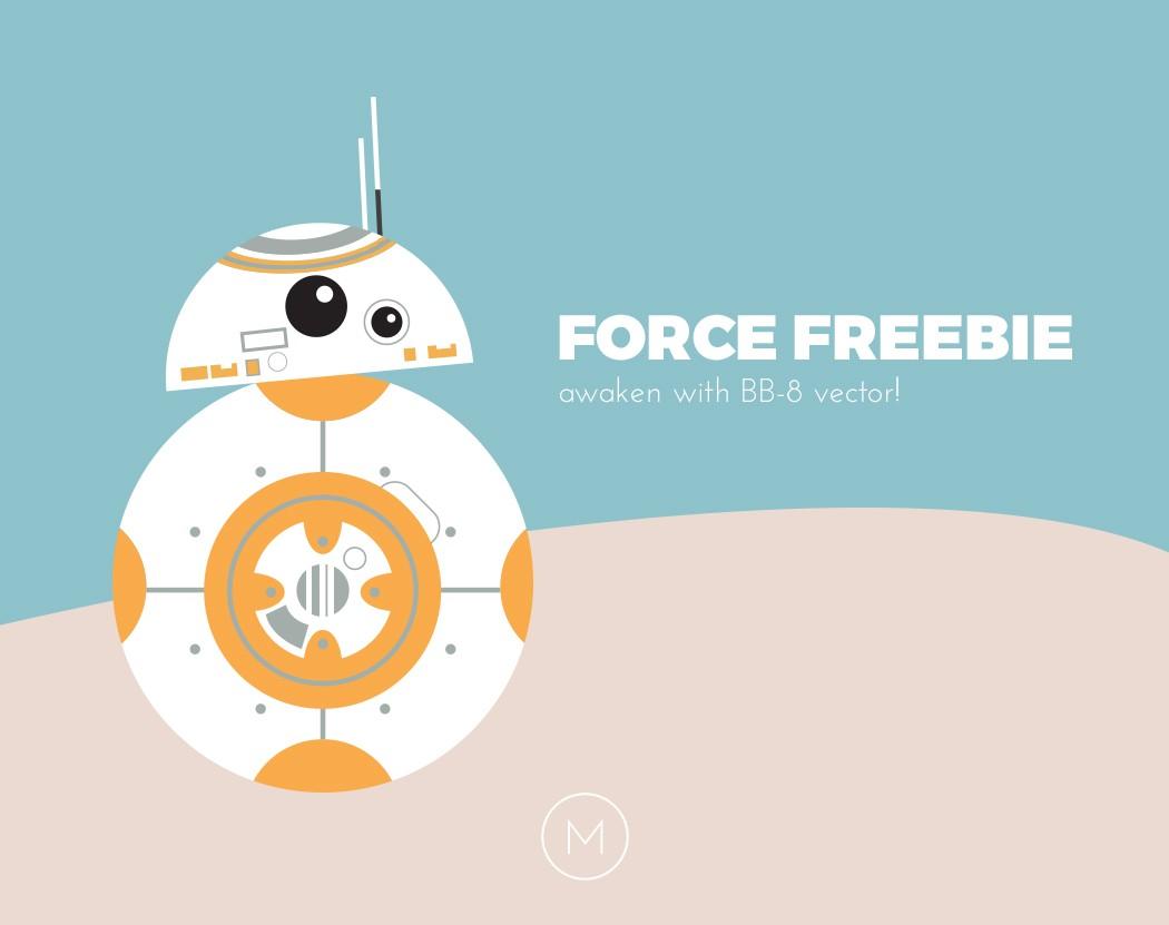 Bb8 clipart happy birthday. Force freebie free bb
