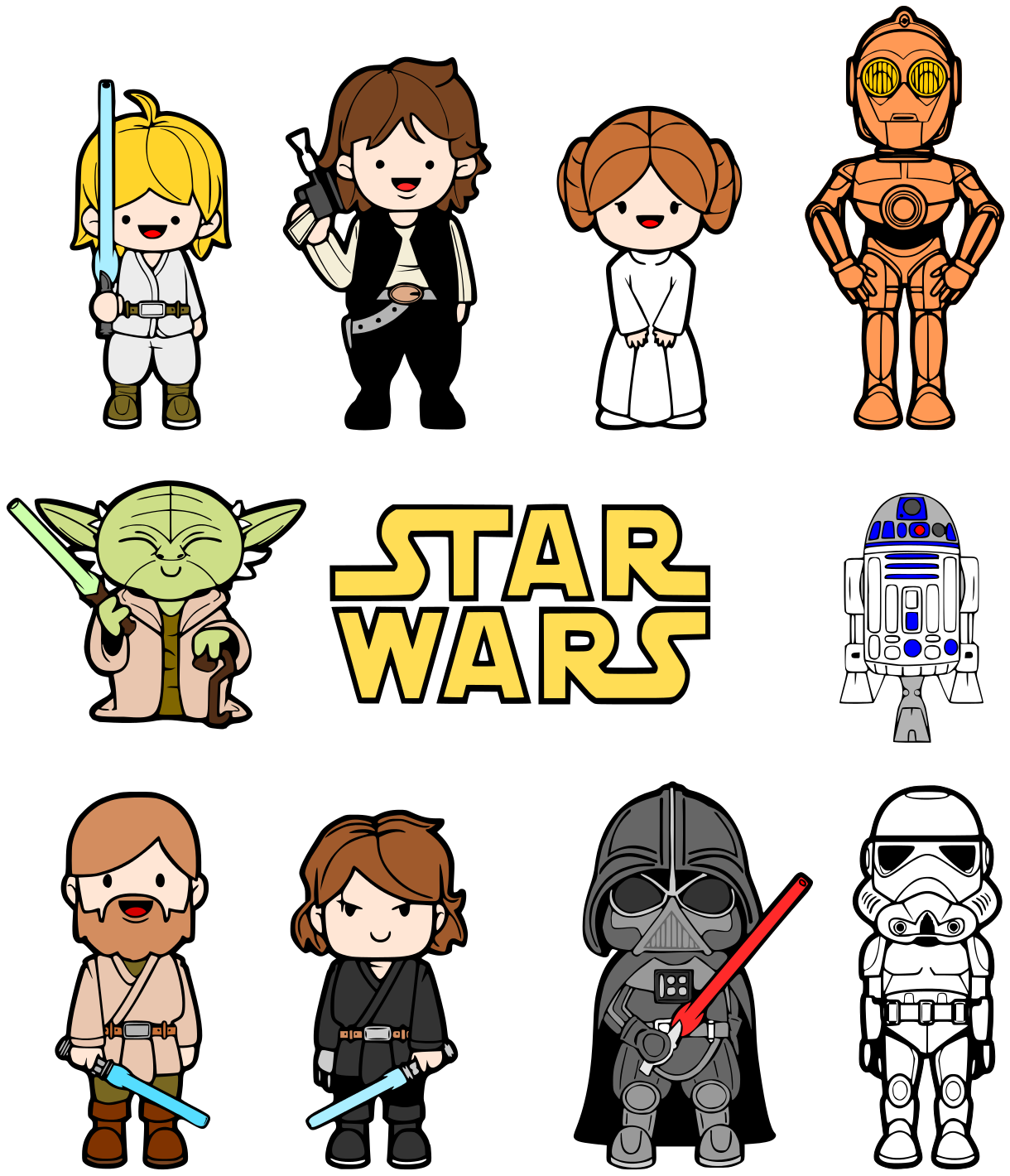 This is best star. Bb8 clipart kid