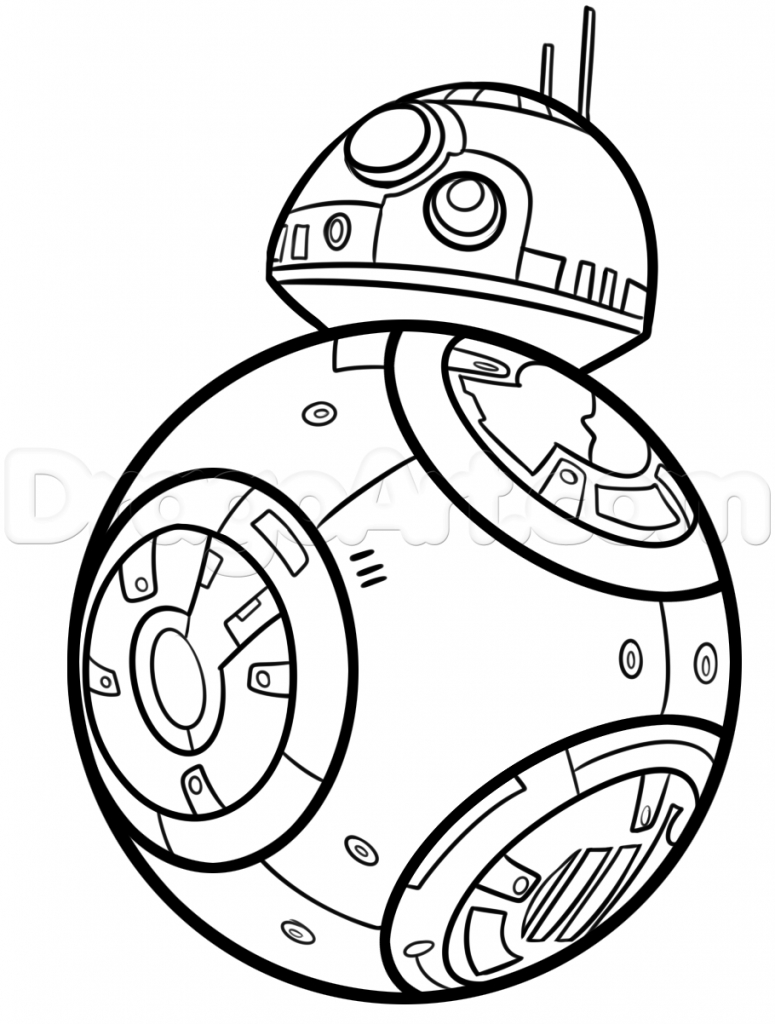 Bb8 clipart outline, Bb8 outline Transparent FREE for download on ...