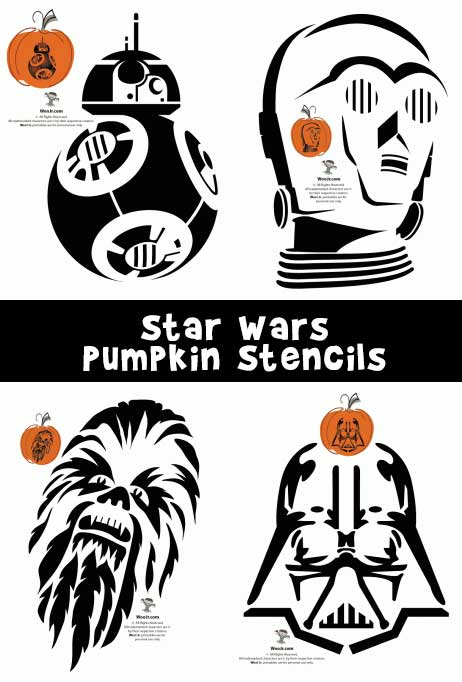Star wars stencils woo. Bb8 clipart pumpkin template