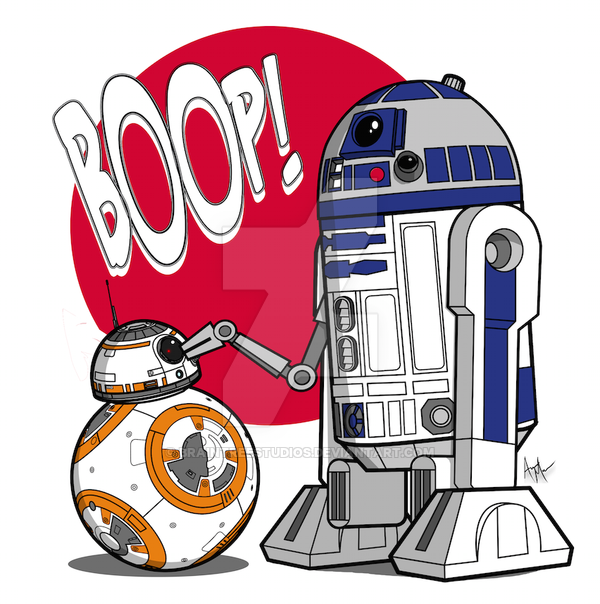 Master of the boop. Bb8 clipart r2d2