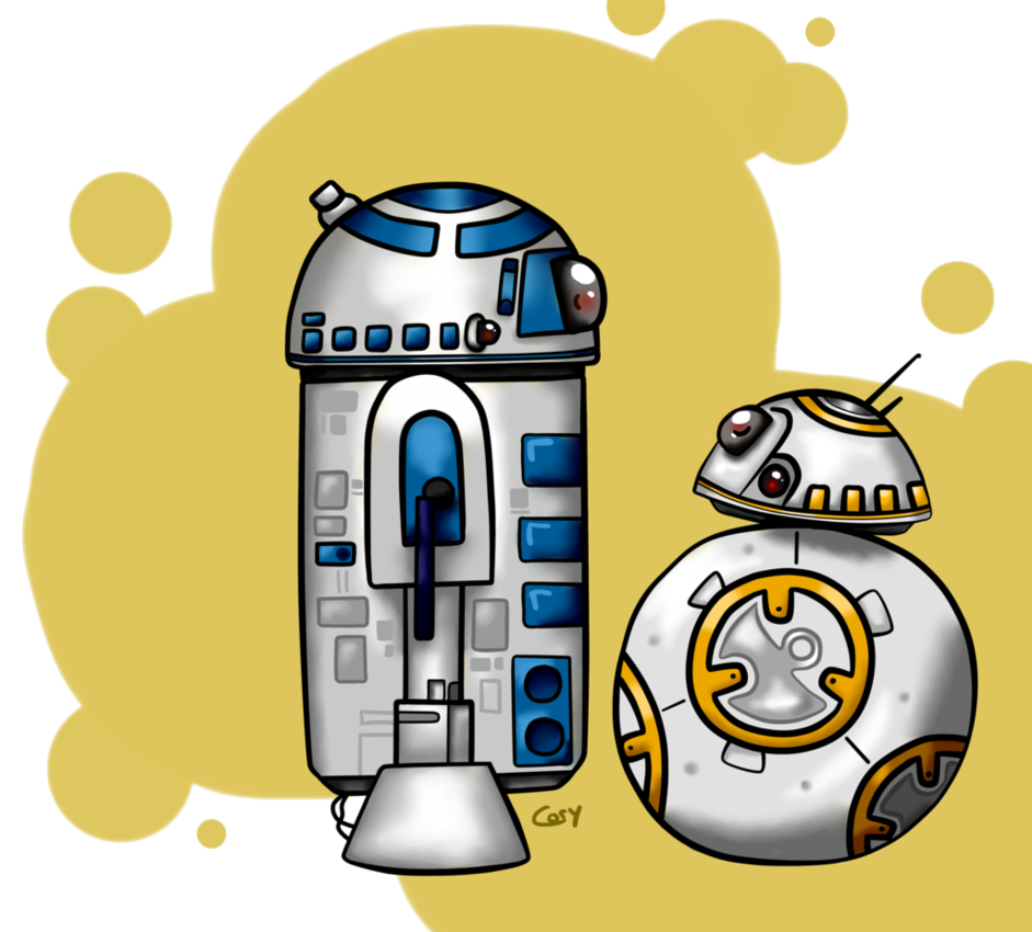 Bb8 clipart r2d2. Bb and r d