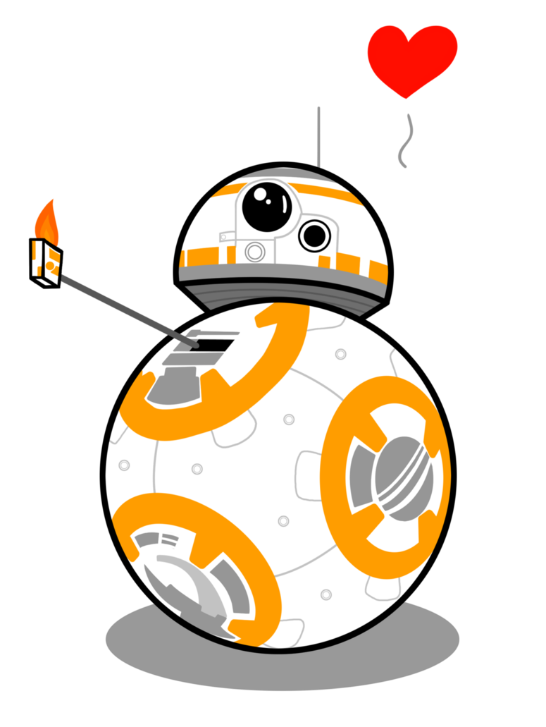 Star wars bb thum. Starwars clipart bb8
