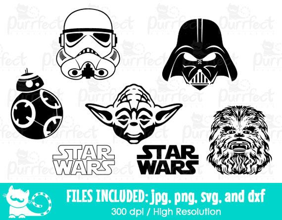 Chewbacca clipart file. Star wars svg storm