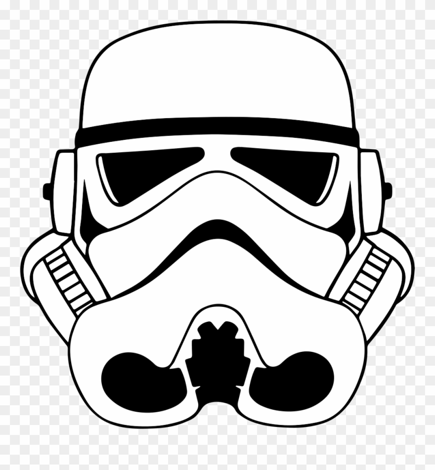 File stormtrooperhelmeticon star wars. Starwars clipart stormtrooper