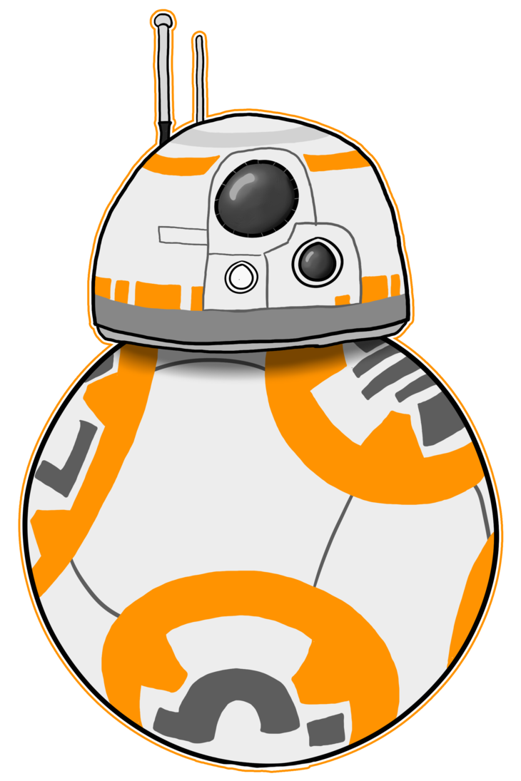 Star wars bb by. Starwars clipart the force awakens