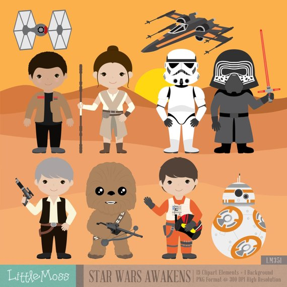 Star wars digital from. Bb8 clipart the force awakens