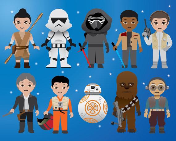 Bb8 clipart the force awakens. New star wars digital
