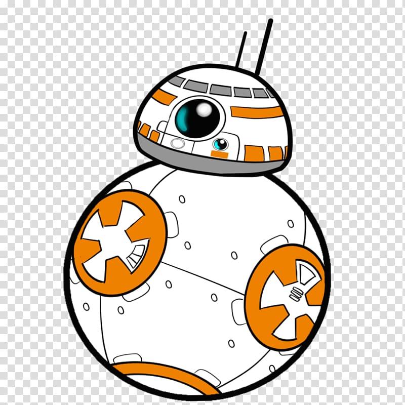 Star wars bb r. Bb8 clipart transparent background