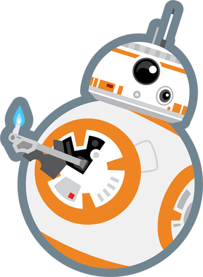 Bb8 clipart transparent background.  collection of star