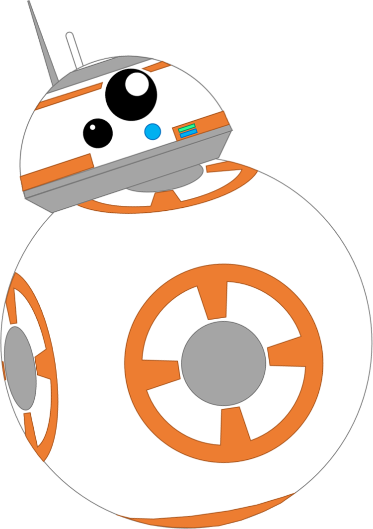 Starwars clipart bb8. Bb by coulden dx