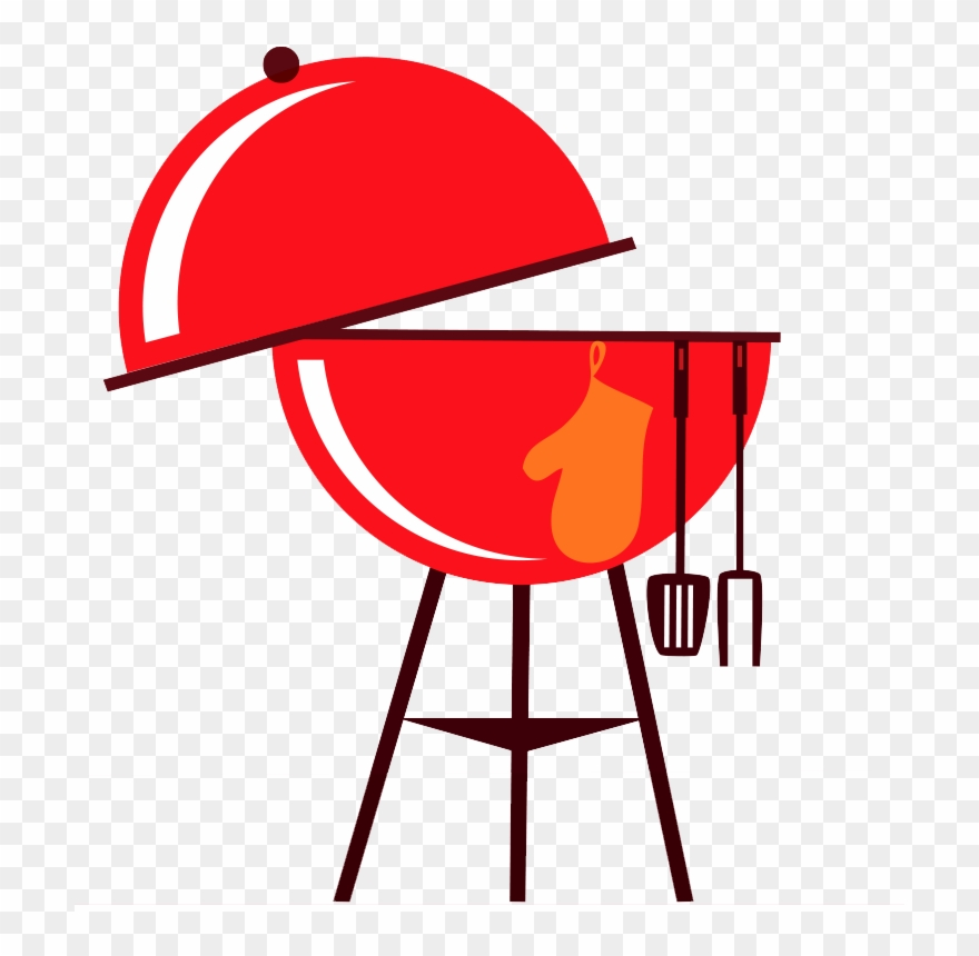 Bbq grill png transparent. Grilling clipart grille