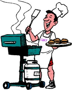 Clip art free barbeque. Barbecue clipart cartoon