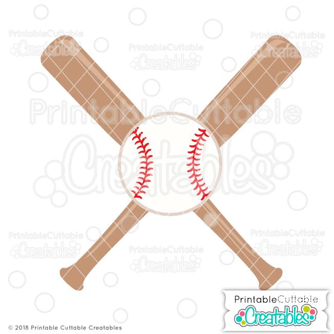 Crossed bats ball free. Bbq clipart baseball