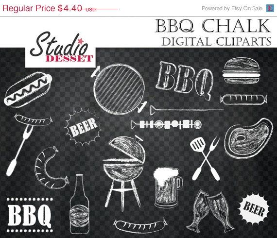 Bbq clipart chalkboard. Barbeque cliparts grill digital