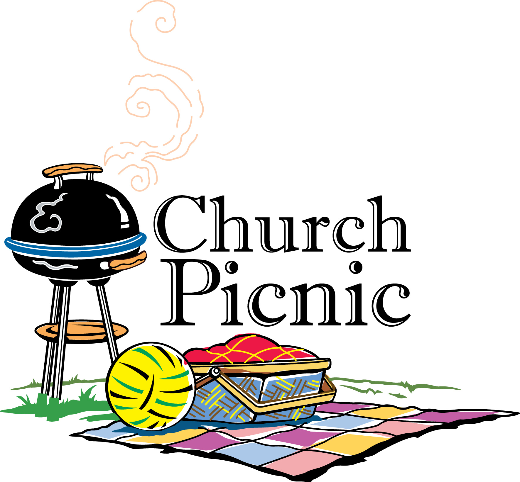 Bbq clipart church. Picnic free download best