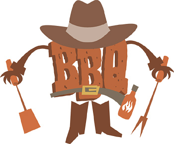 cookout clipart western bbq