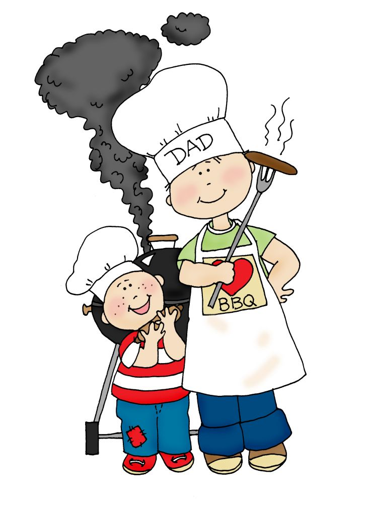 Bbq clipart dad. Free grilling clipartmansion com