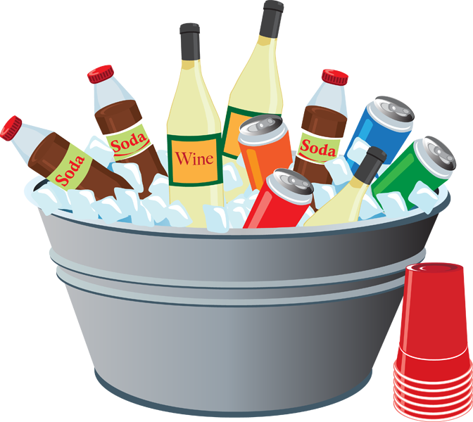 Drinking clipart party drink. Picnic clip art free