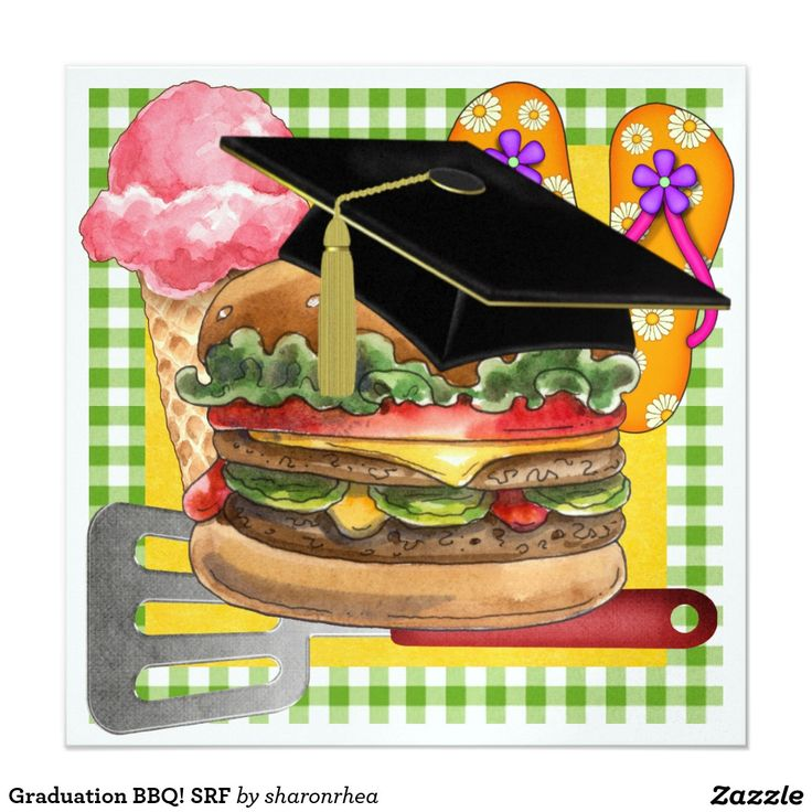 Barbecue clipart graduation.  best party invitations