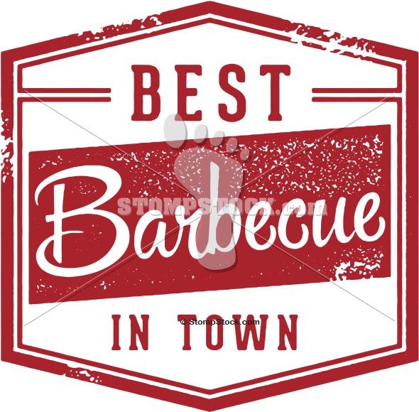 Barbecue clipart vintage. Bbq menu sign stompstock