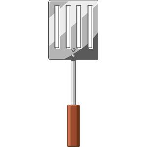 Cartoon cliparts of free. Bbq clipart spatula