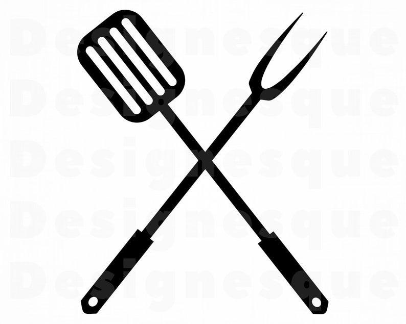 Bbq clipart spatula. Logo svg grill grilling