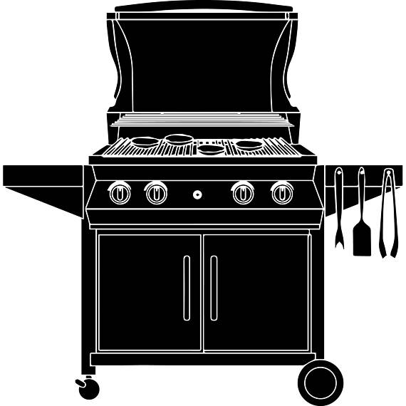 Bbq clipart stove. Barbecue grill cooking grilling