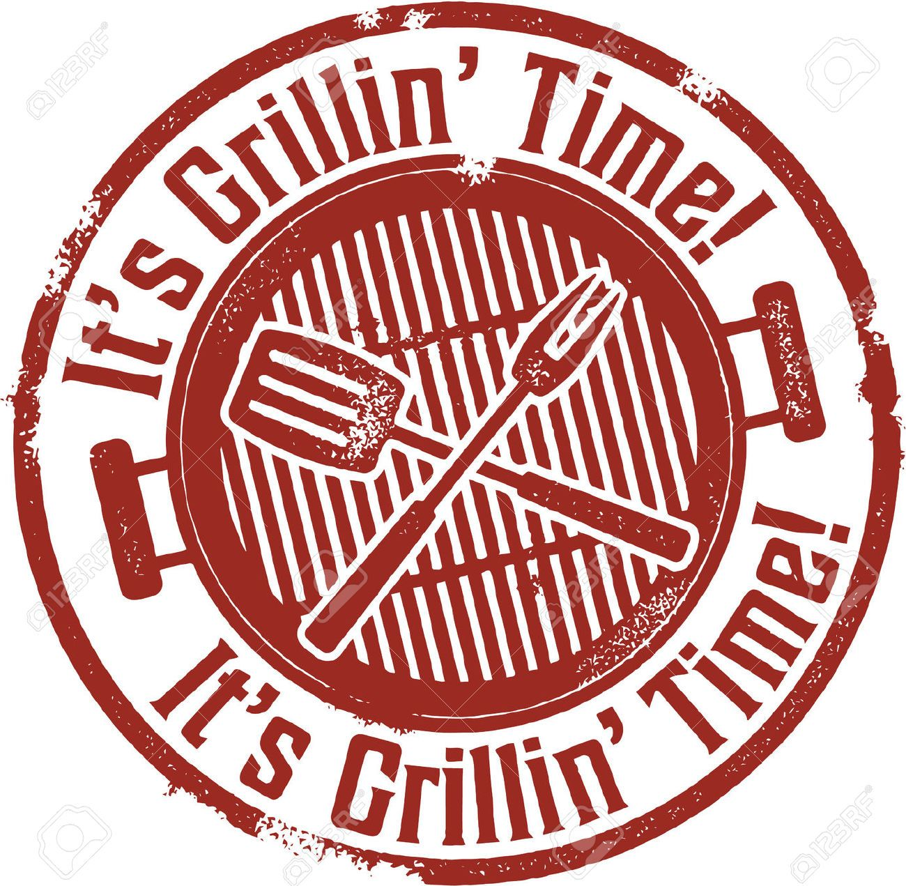 It s grilling time. Bbq clipart vector
