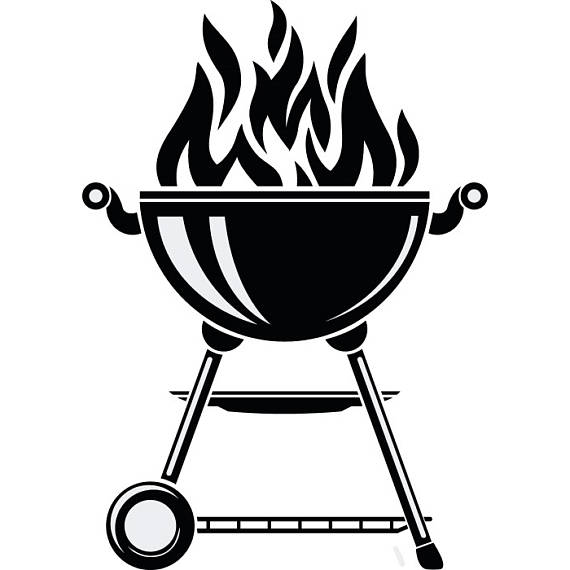 Bbq clipart vector. Grill grilling barbecuing barbecue