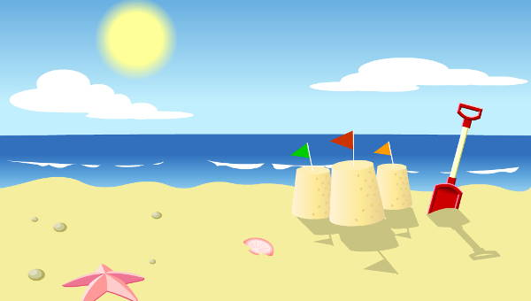 Clipart beach. Couple cliparts free download