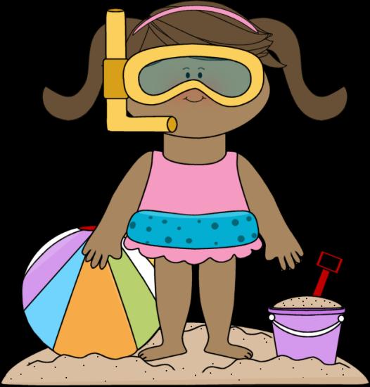 Beachball clipart kid. Beach clothes clipartuse kids