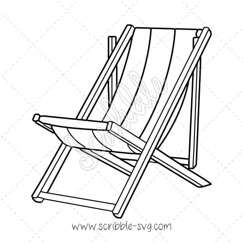 Beach at getdrawings com. Chair clipart drawing