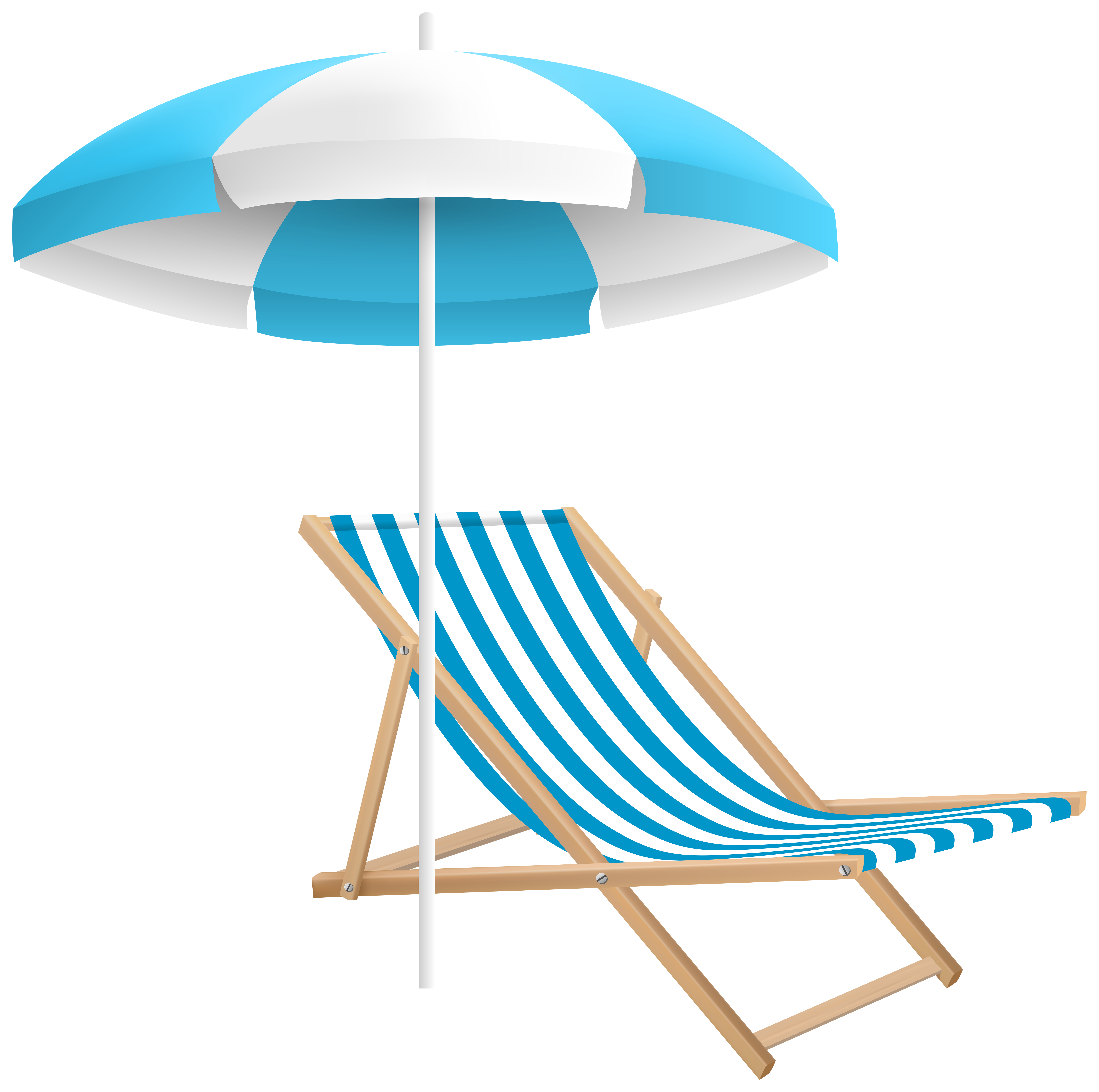 Beach and umbrella png. Clipart chair sea