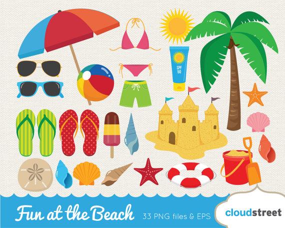 Beach clipart beach item. Buy get free fun