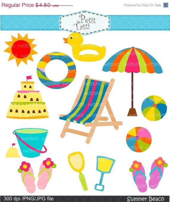 On sale summer clip. Beach clipart beach item