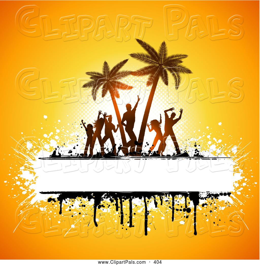 People . Beach clipart beach party