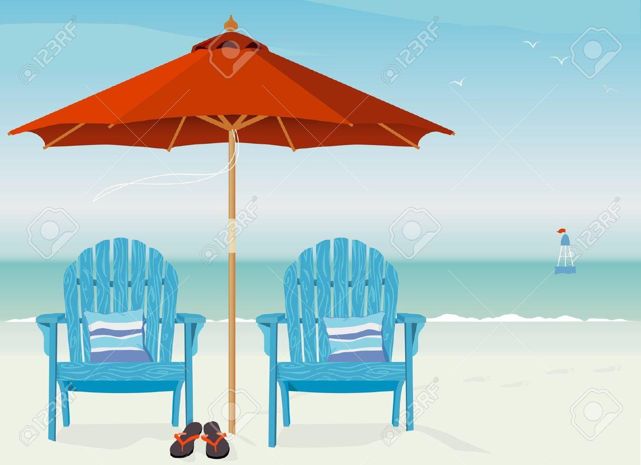 Clip art relaxing scenes. Beach clipart beach scene