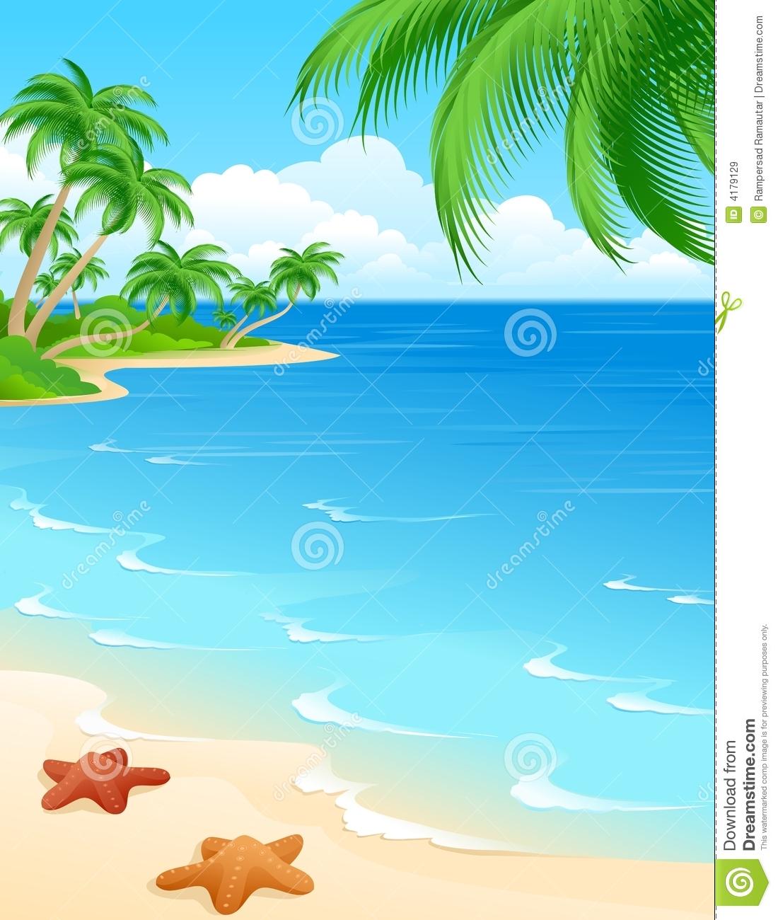 Beach clipart beach scene.  collection of high